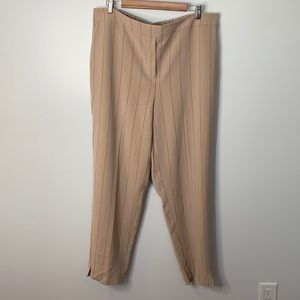 Addition Elle striped Pull-On Ankle Pant sz 18